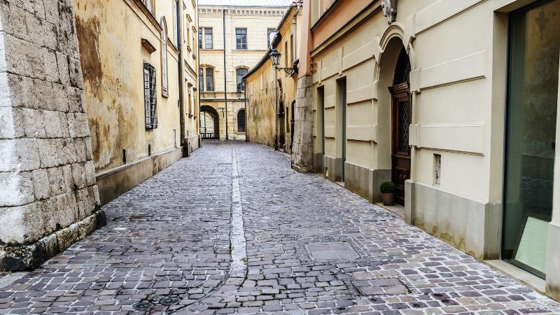Old Jewish Quarter in Krakow