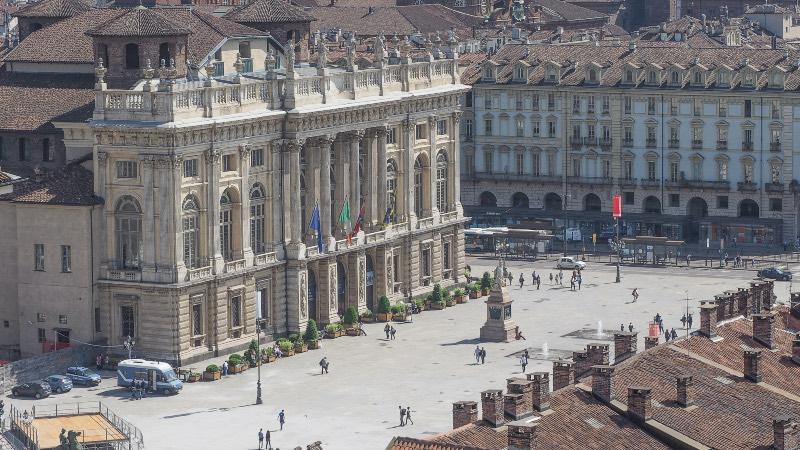 Turin - Piazza castello square