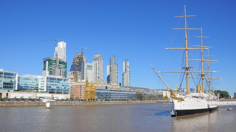 River Maya in Buenos Aires