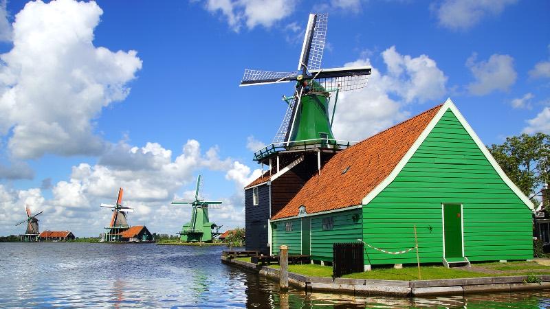The windmills of Amsterdam