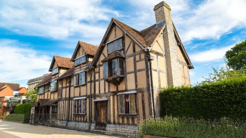Shakespeares house in Stratford Upon Avon